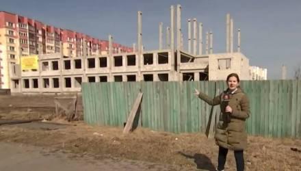 Строительство школы в одном из молодых микрорайонов Гомеля находится в глубокой заморозке