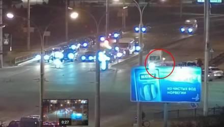 Смертельный наезд маршрутки на ребёнка в Бресте попал на видео