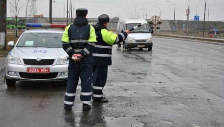 Рейд: за 4 часа ГАИ Гомельщины выявила более 270 нарушений ПДД