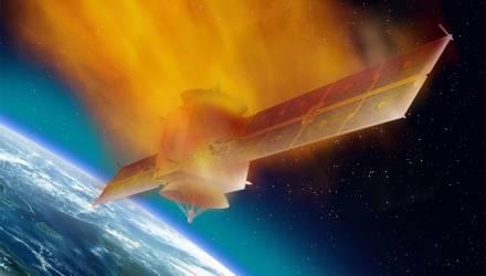 Смерть из космоса. Старый советский спутник летит к Земле