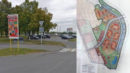 В Гомеле хотят застроить многоэтажками ещё один участок по ул. Юбилейной и спрашивают мнение граждан