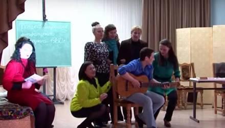 Необычная премьера состоялась в женской исправительной колонии в Гомеле в канун 8 Марта (видео)