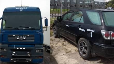 В Гомеле наказали мозырянина, который незаконно завладел грузовиками и провернул афёру со своим Lexus