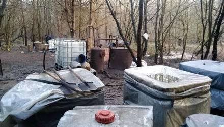 Самогонный мини-завод обнаружили в Беловежской пуще