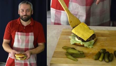 Гомельский блогер готовит дикие бургеры из лосятины