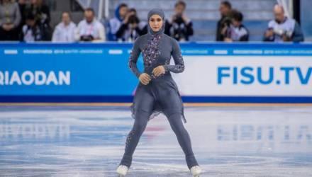 Первая фигуристка в хиджабе: Посоветую всем в ОАЭ посетить Сибирь!