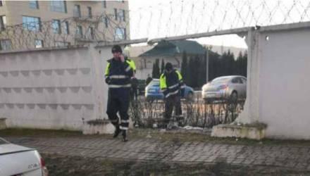 В Минске джип пошёл на таран спецподразделения «Алмаз»