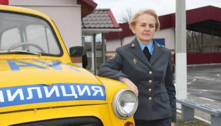 Единственная в республике женщина – начальник МРЭО служит в Житковичах