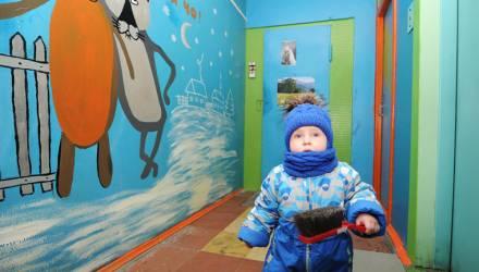 Детский городок по инициативе жильцов создаётся в Западном микрорайоне Гомеля
