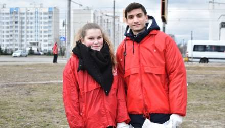 В канун Всемирного дня водных ресурсов молодёжь и организации города провели субботник у Бурого болота