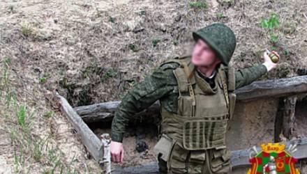 В Печах офицер спас солдата, уронившего на занятиях в окоп боевую гранату