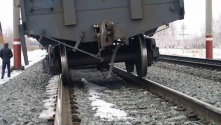 Охотники за металлом совершили налёт на грузовой поезд Брянск – Гомель