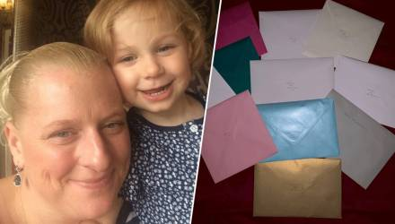 Умирающая мама оставила вместо себя 40 открыток на каждый день рождения дочки