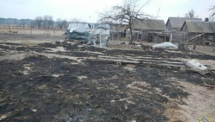 Первая жертва весенних палов: в Речицком районе женщина пыталась затушить горящую траву и погибла