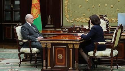 «Выборы, и одни, и другие, должны пройти как праздник». Лукашенко встретился с Кочановой