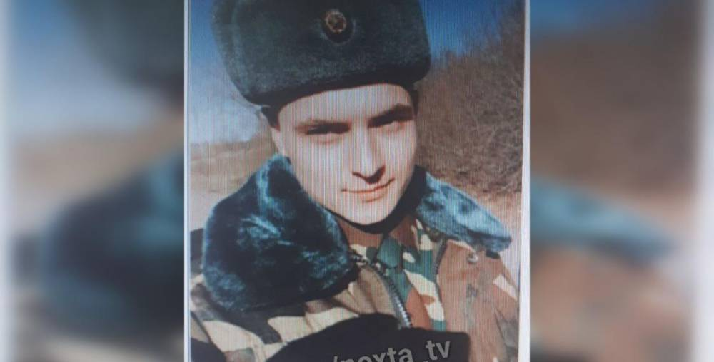 Пропавший из части Александр Невмержицкий. Фото из телеграмм-канала NEXTA