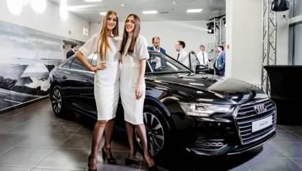 НТС открыл первый автосалон Audi в Гомеле, аналогов которому в городе нет