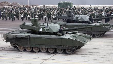 Танк Т-14 «Армата» получит туалет