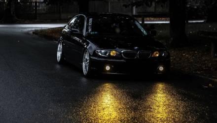 На Гомельщине очередной горе-водитель лишился BMW