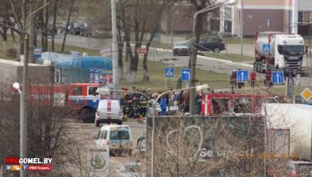 В Гомеле произошла серьёзная авария – понадобилась помощь спасателей