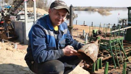 Уникальный тысячелетний шлем откопали на берегу Березины