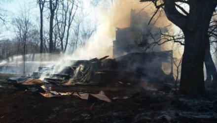 В Беларуси сельчане сжигали мусор, а сожгли католический храм 19 века