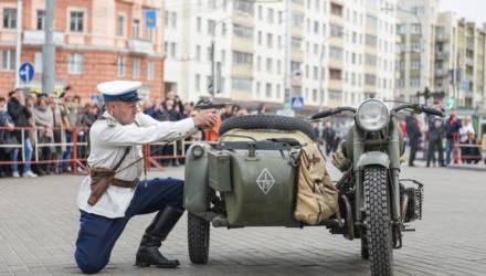 100-летие УВД Гомельского облисполкома празднуют в городе над Сожем