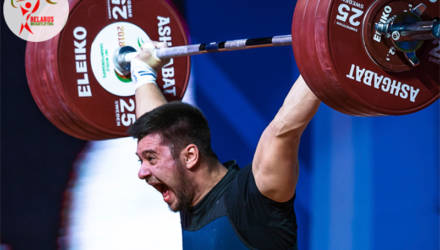 Гомельский тяжелоатлет Евгений Тихонцов стал чемпионом Европы