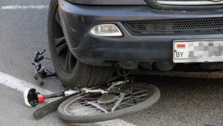 В Гомеле Большой Чёрный Джип раздавил велосипед