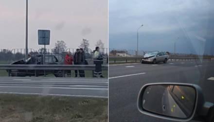 На трассе Гомель-Минск произошло серьёзное ДТП: со слов очевидцев, есть погибший (фото, видео)