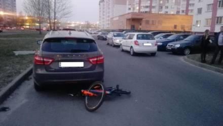 В Гомеле водитель сбил 9-летнего школьника на велосипеде