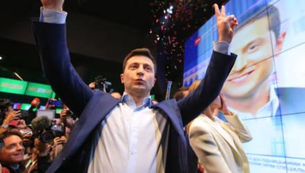 Зеленский победил на выборах с рекордной в истории Украины поддержкой