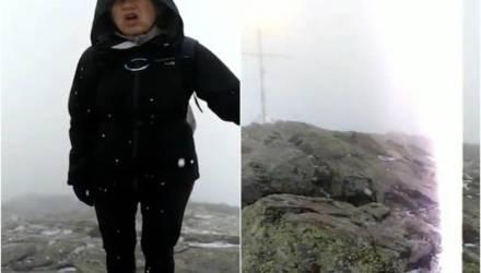 Момент, как молния подбросила туристов в воздух, попал на видео