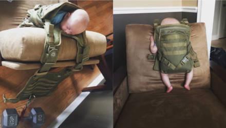 Хорошо подумайте, прежде чем оставлять ребёнка с папой, иначе будет так: 10 фото