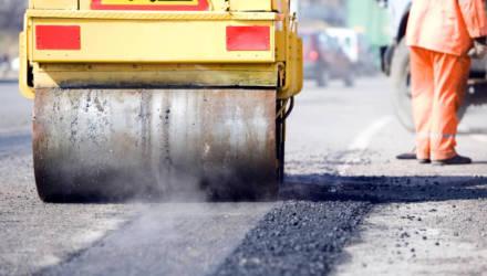 Минтранс: основные магистрали Беларуси отремонтируют до 1 июня