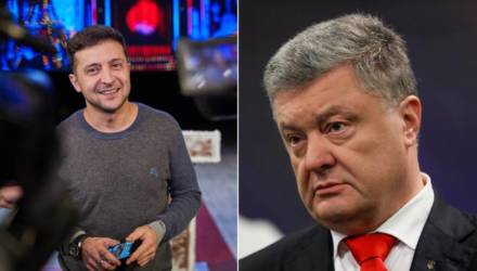 Зеленский идёт на новый рекорд, Порошенко грустит. За 5 дней до выборов в Украине опубликовали новые рейтинги