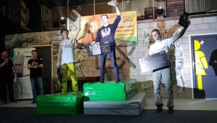 Гомельские скалолазы успешно выступили на соревнованиях в Киеве