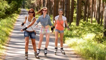 В этом году в Гомеле заработает лыжероллерная трасса