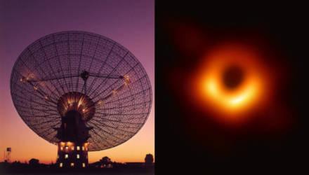 Впервые в истории опубликовано изображение настоящей чёрной дыры