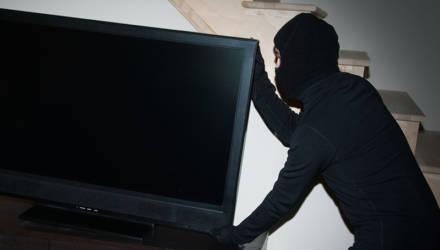 Нежданные гости из Речицкого и Добрушского районов вынесли ЖК-телевизор из квартиры гомельского пенсионера