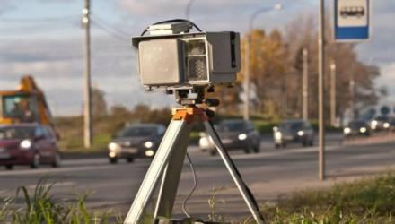 На выходных на подъезде к Гомелю ГАИ установит дополнительные мобильные датчики скорости