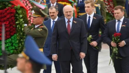 Уже не Коленька, а Николай. Посмотрите, как вырос младший сын Лукашенко