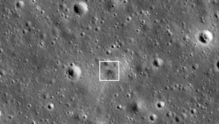 NASA обнаружило на Луне след от крушения космического корабля