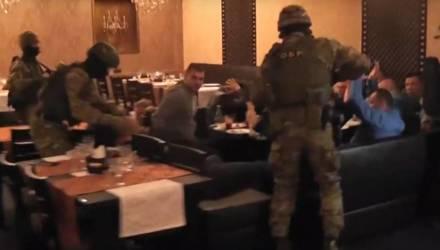 Милиция прервала сходку вора в законе и смотрящих за регионами – видео