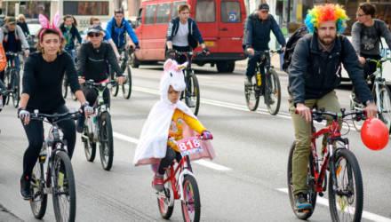В Гомеле прошёл весенний велопробег (фото)