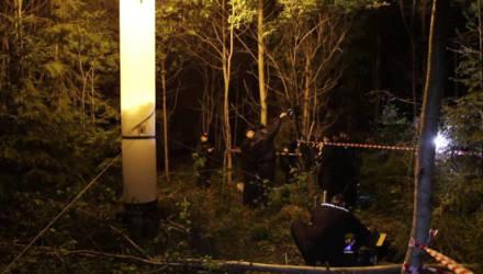Появилось видео с места, где было обнаружено тело убитого сотрудника ГАИ