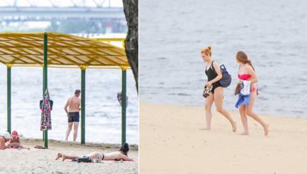 Пляжи Гомеля готовы к купальному сезону (и местные красотки тоже – прим.)