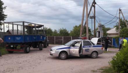 ЧП: в агрогородке под Гомелем трактор столкнулся с велосипедистом – последний умер