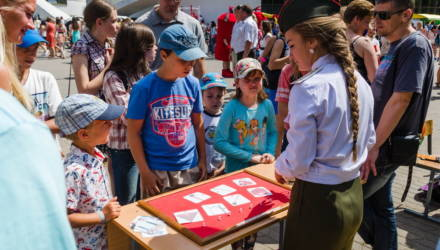 Работники МЧС при участии байкеров и велосипедистов готовят в Гомеле увлекательный праздник для детей