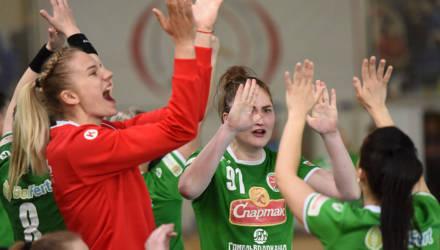 Гандболистки «Гомеля» досрочно стали чемпионами Беларуси